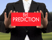 Bet predictions: deciding about the final results.