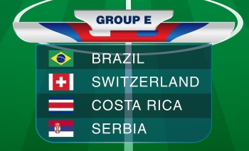 FIFA World Cup 2018 Group E.