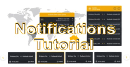 Customizable notification system tutorial - the ultimate betting tool!