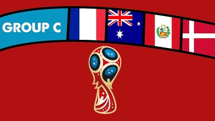 FIFA World Cup 2018 Group C.