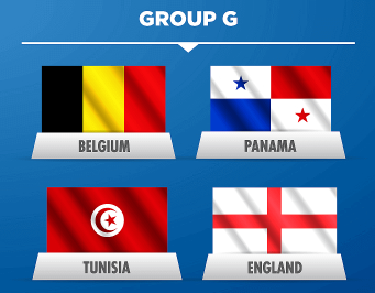 FIFA World Cup 2018 Group G.